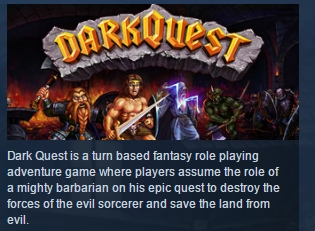 Dark Quest ( Steam Key / Region Free ) GLOBAL ROW