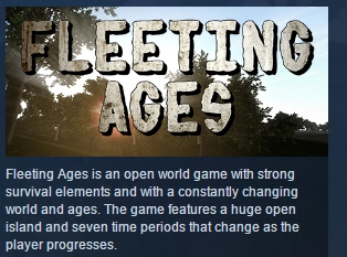 Fleeting Ages STEAM KEY REGION FREE GLOBAL