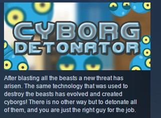 Cyborg Detonator + Beast Blaster +  Zombie Boom STEAM