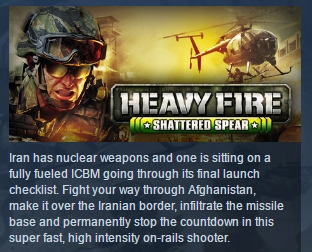 Heavy Fire: Shattered Spear ( Steam Key / Region Free )