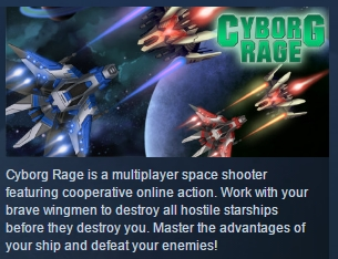 Cyborg Rage ( Steam Key / Region Free ) GLOBAL ROW