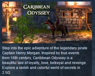 Caribbean Odyssey ( Steam Key / Region Free ) GLOBAL