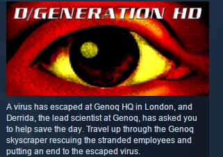 D/Generation HD ( Steam Key / Region Free ) GLOBAL ROW