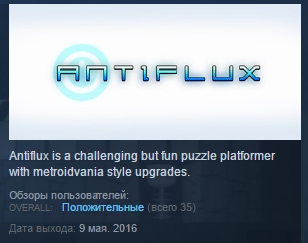 Antiflux ( Steam Key / Region Free ) GLOBAL ROW