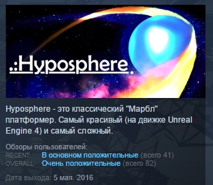 Hyposphere ( Steam Key / Region Free ) GLOBAL ROW