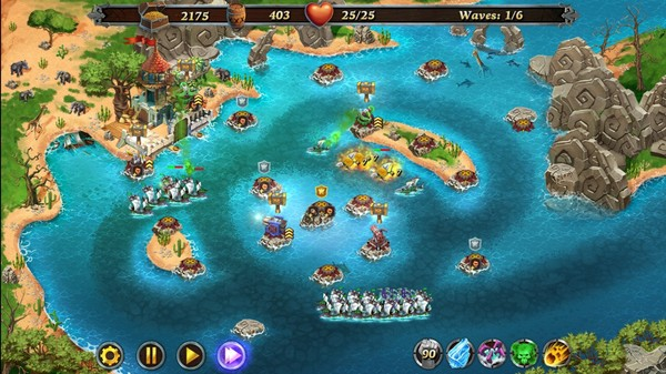 Fort Defense - Atlantic Ocean STEAM KEY REGION FREE ROW