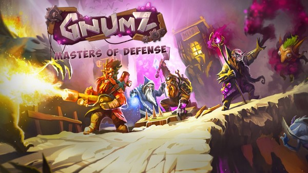 Gnumz: Masters of Defense STEAM KEY REGION FREE GLOBAL