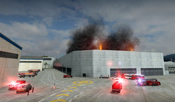 Airport Firefighters The Simulation STEAM KEY GLOBAL