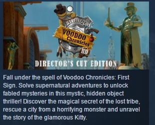 Voodoo Chronicles: The First Sign HD - Director's Cut