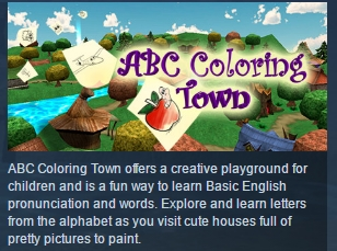 ABC Coloring Town ( Steam Key / Region Free ) GLOBAL