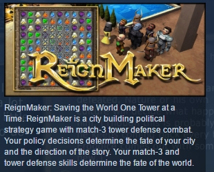 Фотография reignmaker steam key region free global 💎