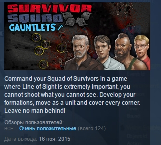 Survivor Squad: Gauntlets STEAM KEY REGION FREE GLOBAL
