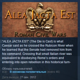 Alea Jacta Est Complete STEAM KEY REGION FREE GLOBAL