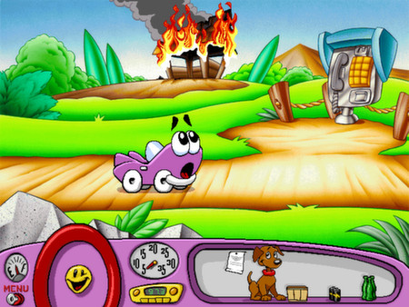 Putt-Putt Enters the Race STEAM KEY GLOBAL REGION FREE