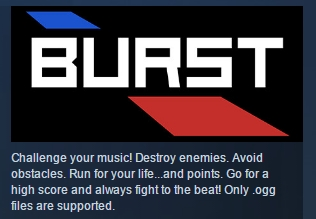 Burst ( Steam Key / Region Free ) GLOBAL ROW