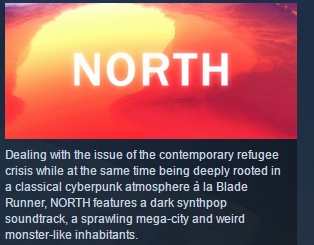 North ( Steam Key / Region Free ) GLOBAL ROW