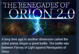 The Renegades of Orion 2.0 ( Steam Key / Region Free )