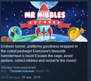 Mr Nibbles Forever ( Steam Key / Region Free ) GLOBAL