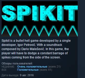 Spikit ( Steam Key / Region Free ) GLOBAL ROW