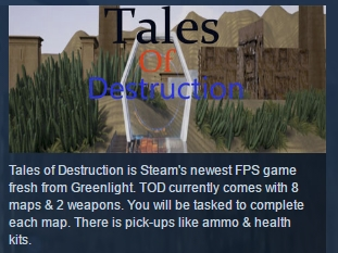 Tales of Destruction ( Steam Key / Region Free ) GLOBAL