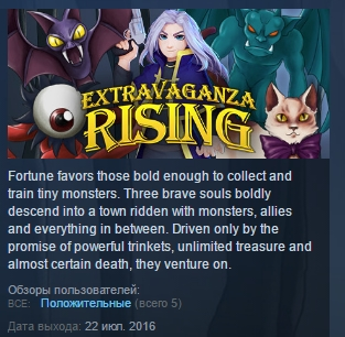 Extravaganza Rising ( Steam Key / Region Free ) GLOBAL
