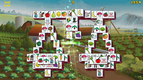 Barnyard Mahjong 3 STEAM KEY REGION FREE GLOBAL