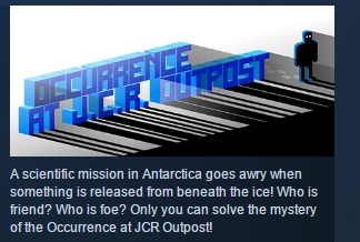 Occurrence at JCR Outpost ( Steam Key / Region Free )