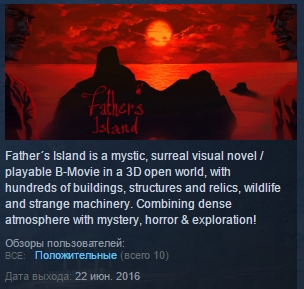 Father´s Island ( Steam Key / Region Free ) GLOBAL ROW
