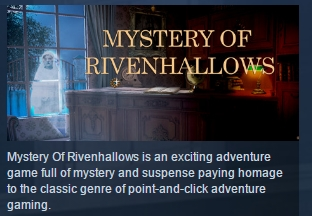 MYSTERY OF RIVENHALLOWS STEAM KEY REGION FREE GLOBAL