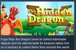 THE HIDDEN DRAGON ( Steam Key / Region Free ) GLOBAL