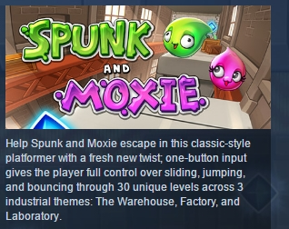Spunk and Moxie ( Steam Key / Region Free ) GLOBAL ROW