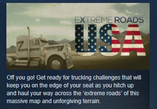 Extreme Roads USA ( Steam Key / Region Free ) GLOBAL