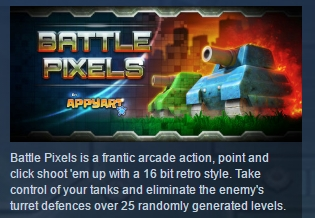 Battle Pixels ( Steam Key / Region Free ) GLOBAL ROW