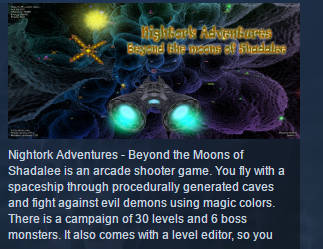 Nightork Adventures Beyond the Moons of Shadalee STEAM