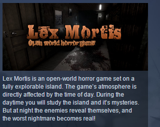 Lex Mortis  ( Steam Key / Region Free ) GLOBAL ROW