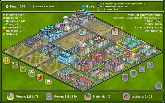 Megapolis ( Steam Key / Region Free ) GLOBAL ROW