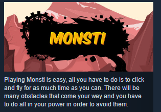 Monsti ( Steam Key / Region Free ) GLOBAL ROW