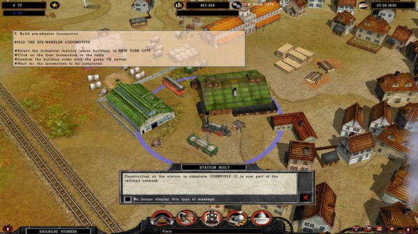 Railroad Pioneer STEAM KEY RU+CIS LICENSE