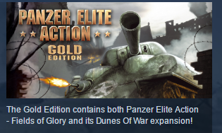 Panzer Elite Action Gold Edition STEAM KEY RU + CIS