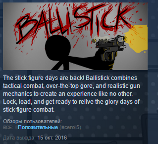 Ballistick ( Steam Key / Region Free ) GLOBAL ROW