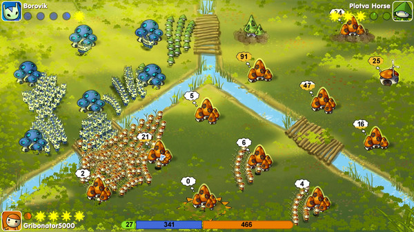 Mushroom Wars ( Steam Key / Region Free ) GLOBAL ROW