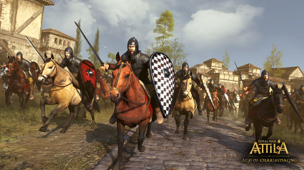 Total War ATTILA Age of Charlemagne Campaign Pack STEAM