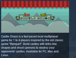 Castle Chaos ( Steam Key / Region Free ) GLOBAL ROW