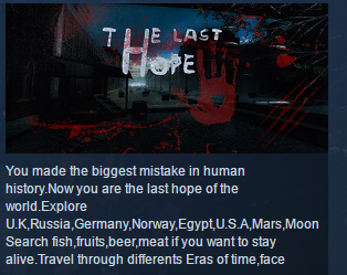 The Last Hope  ( Steam Key / Region Free ) GLOBAL ROW