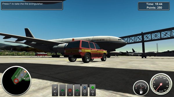 Airport Fire Department The Simulation STEAM KEY GLOBAL