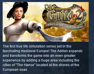 The Guild II - Pirates of the European Seas STEAM KEY