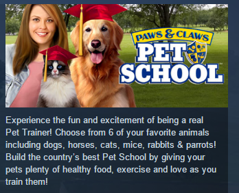 Paws and Claws: Pet School STEAM KEY REGION FREE GLOBAL