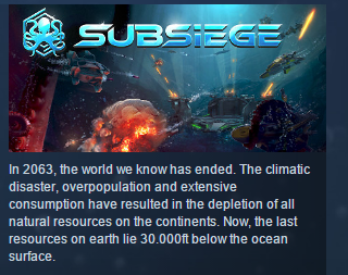 Subsiege Early Access ( Steam Key / Region Free) GLOBAL