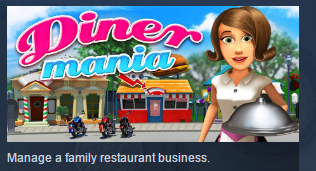 Diner Mania ( Steam Key / Region Free ) GLOBAL ROW