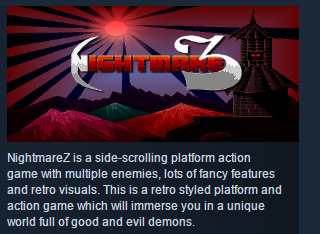 NightmareZ ( Steam Key / Region Free ) GLOBAL ROW